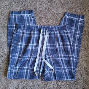 Gilligan & O'Malley plaid flannel lounge pants